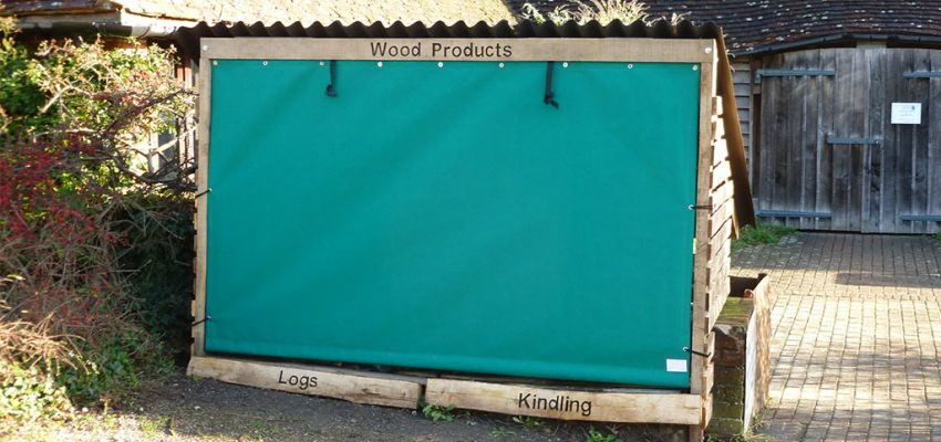 Wood cover slide
